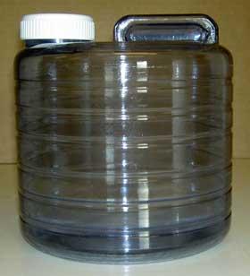 Uppsamlingskärl för destillerat vatten